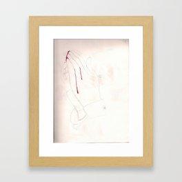 Ungodly Framed Art Print