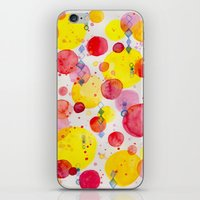 60s iPhone & iPod Skins featuring Party 60s by Gabrielle LR illustration