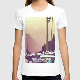 Lewis and Clark National & state historical parks T-shirt