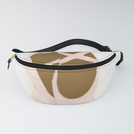 Pink Ballet Shoes 2 Fanny Pack