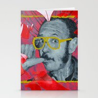 terry fan Stationery Cards featuring Terry by Dmitry  Buldakov