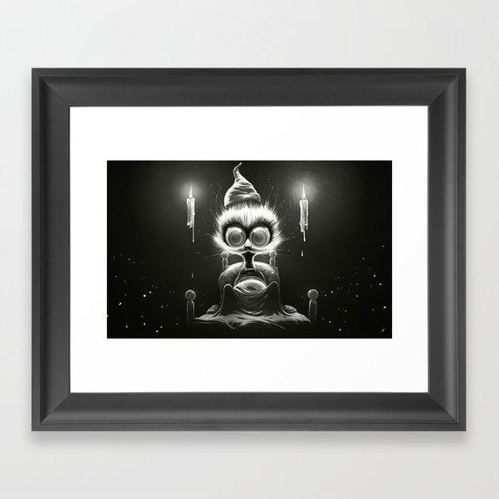 Hu! Framed Art Print