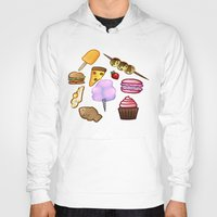 food Hoodies featuring food by Cinna Welch