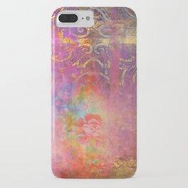 Boho Rose iPhone Case