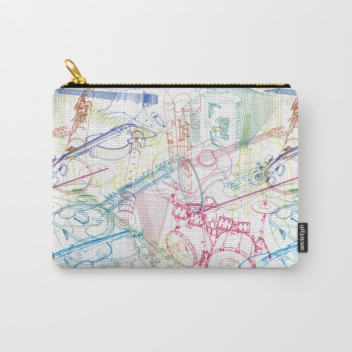 Music #1 Carry-All Pouch