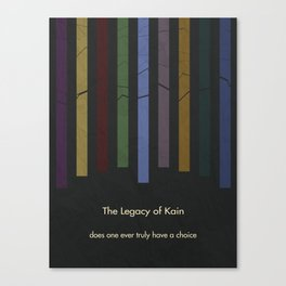 Legacy of Kain Triptych :: The Scion of Balance Canvas Print
