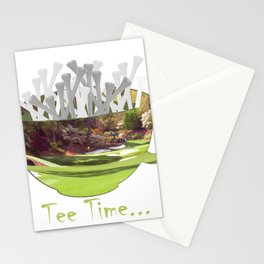 Tee Time Stationery Cards