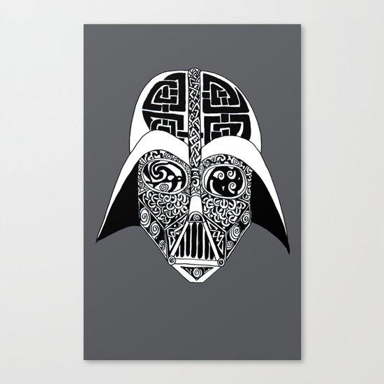 Celtic Vader Canvas Print
