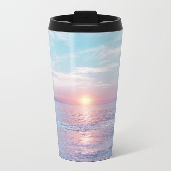 Pastel vibes 13 Metal Travel Mug