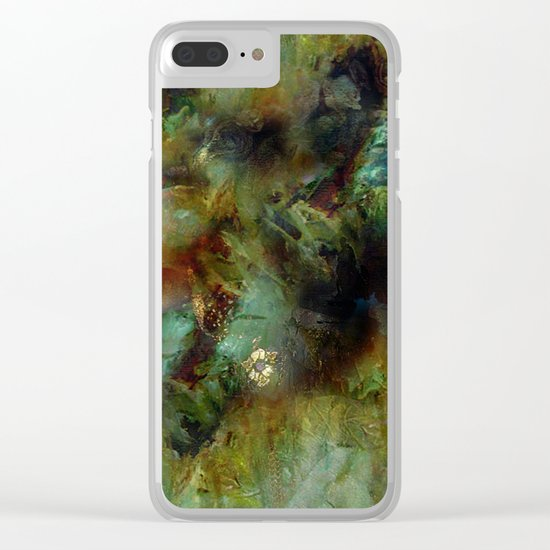 Venetian Courtisan Clear iPhone Case