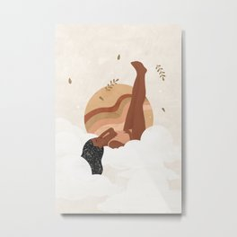 Be Enough For Yourself First Metal Print