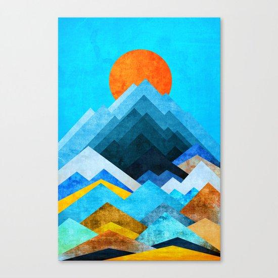 Big peaks Canvas Print