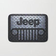 jeep logo Bath Mat