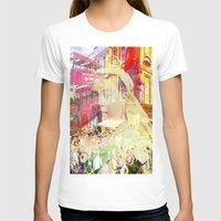 england T-shirts featuring Old England by Ganech joe