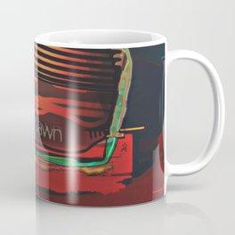 PAWN / Black / Chess Coffee Mug