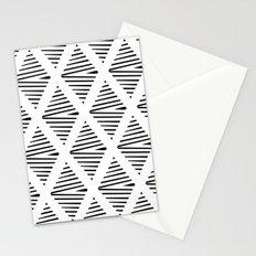 BW Pattern Stationery Cards