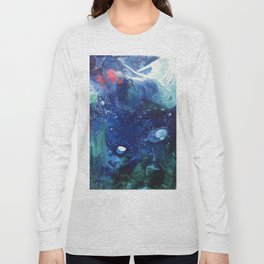 Bright Ocean Life, Tiny World Collection Long Sleeve T-shirt