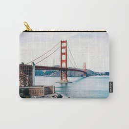 Colors of the Golden Gate Bridge Carry-All Pouch