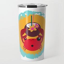 Tropical Crab Travel Mug