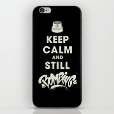 Keep Bombing iPhone & iPod Skin
