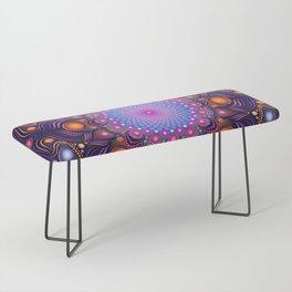 """Guardian"" Mandala painting Bench"