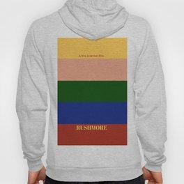 Rushmore minimalist poster Hoody