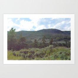 Mountain-Tranquility Art Print