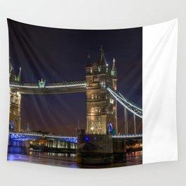 Tower Bridge (London, England) Wall Tapestry
