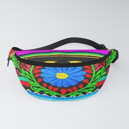 Serape and Flowers Fanny Pack