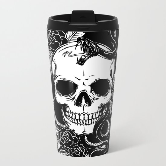 SKULL 7 Metal Travel Mug