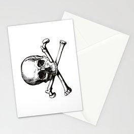 Skull and Crossbones | Jolly Roger Stationery Cards
