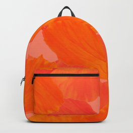 Beautiful Poppies Coral Color Background #decor #society6 #buyart Backpack