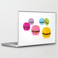macaron Laptop & iPad Skins featuring macaron by taichi_k