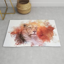 Expressions Lioness Rug
