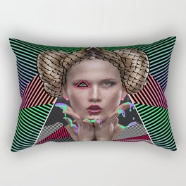 Melting Girl Rectangular Pillow