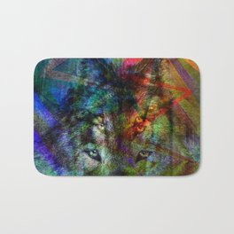 Wolves ##### Bath Mat