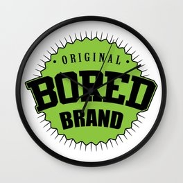 Original bored brand Wall Clock