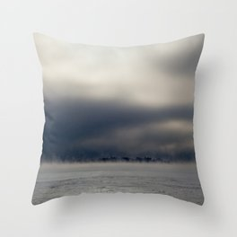 Cold as Hell Throw Pillow