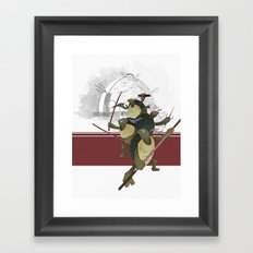 Turtle Drome Framed Art Print
