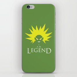 I am Broly iPhone Skin