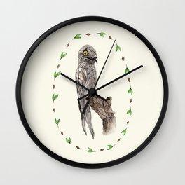 The Common Potoo Wall Clock