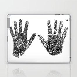 Hands of Contrast Laptop & iPad Skin