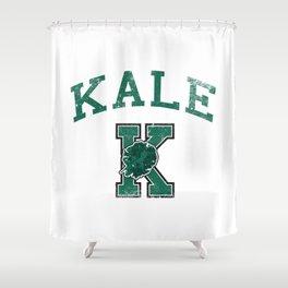 University of Kale Shower Curtain