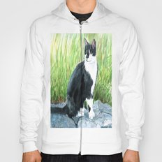 Louie the Tuxedo Cat Hoody