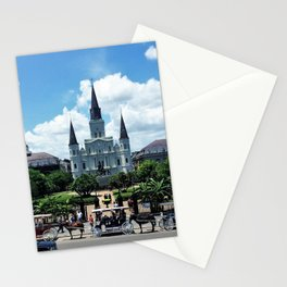 New Orleans - Jackson Square Stationery Cards