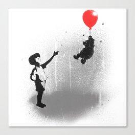 Little Black Rain Cloud Canvas Print