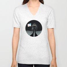 Lunar Walk Unisex V-Neck