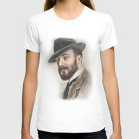 gentleman T-shirts featuring Gentleman by Rachel Zink