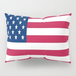 Flag of USA - American flag, flag of america, america, the stars and stripes,us, united states Pillow Sham