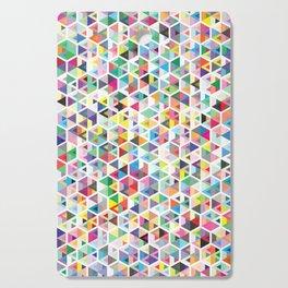Cuben Colour Craze Cutting Board
